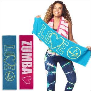 Zumba Love Fitness Towels (2pk) (줌바 러브 피트니스 타월)  442e647ff0d